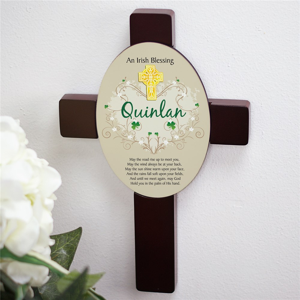 Irish Blessing Cross | Irish Home Decor