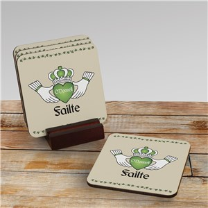 Irish Home Decor | Personalized Irish Coasters
