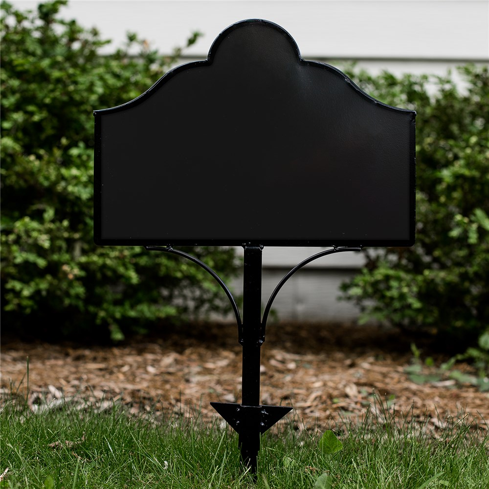 Collapsible Metal Magnetic Yard Sign | Yard Decor