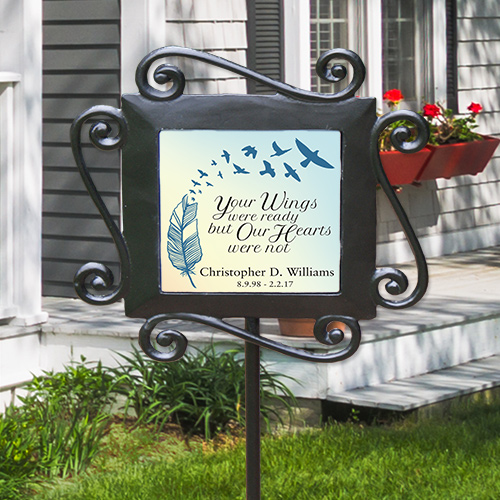 Personalized Memorial Garden Stake | Memorial Gifts