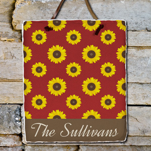 Personalized Sunflower Slate Plaque 631106306