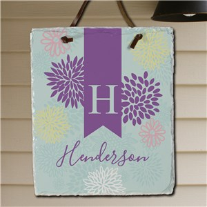Wall Slate for Spring | Personalized Housewarming Gifts
