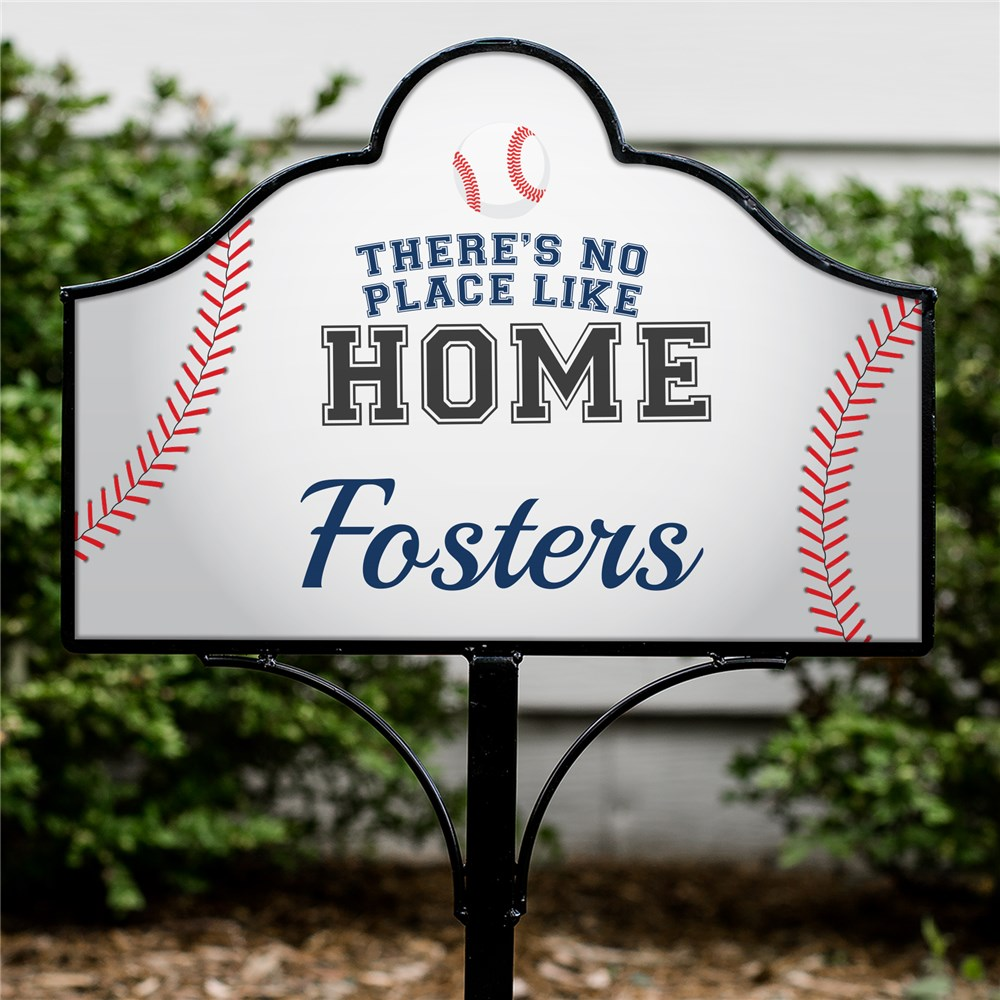 Personalized No Place Like Home Magnetic Sign Set | Personalized Yard Signs