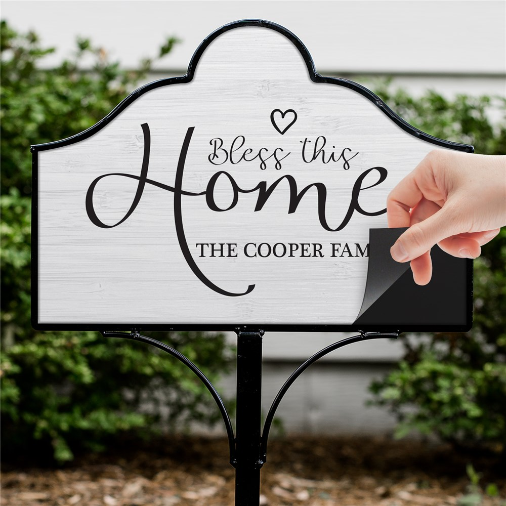 Housewarming Gifts | Personalized Lawn Decor