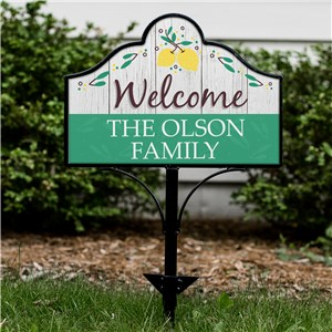 Personalized Spring Signs | Lemon Yard Signs