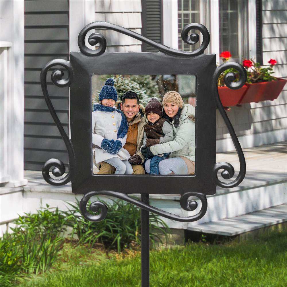 Photo Garden Stake | Personalized Housewarming Gifts