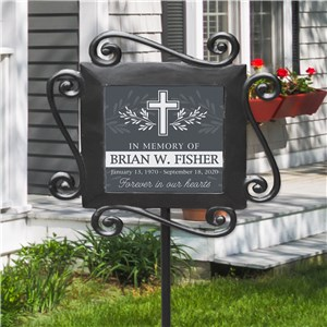 Personalized Memorial Gifts | Memorial Garden Stake