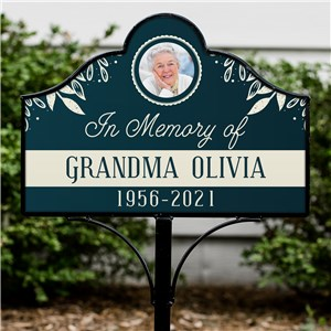 Personalized Grave Marker | Personalized Memorial Garden Stake