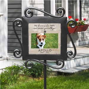 Personalized Hardest Goodbye Garden Stake 631174714