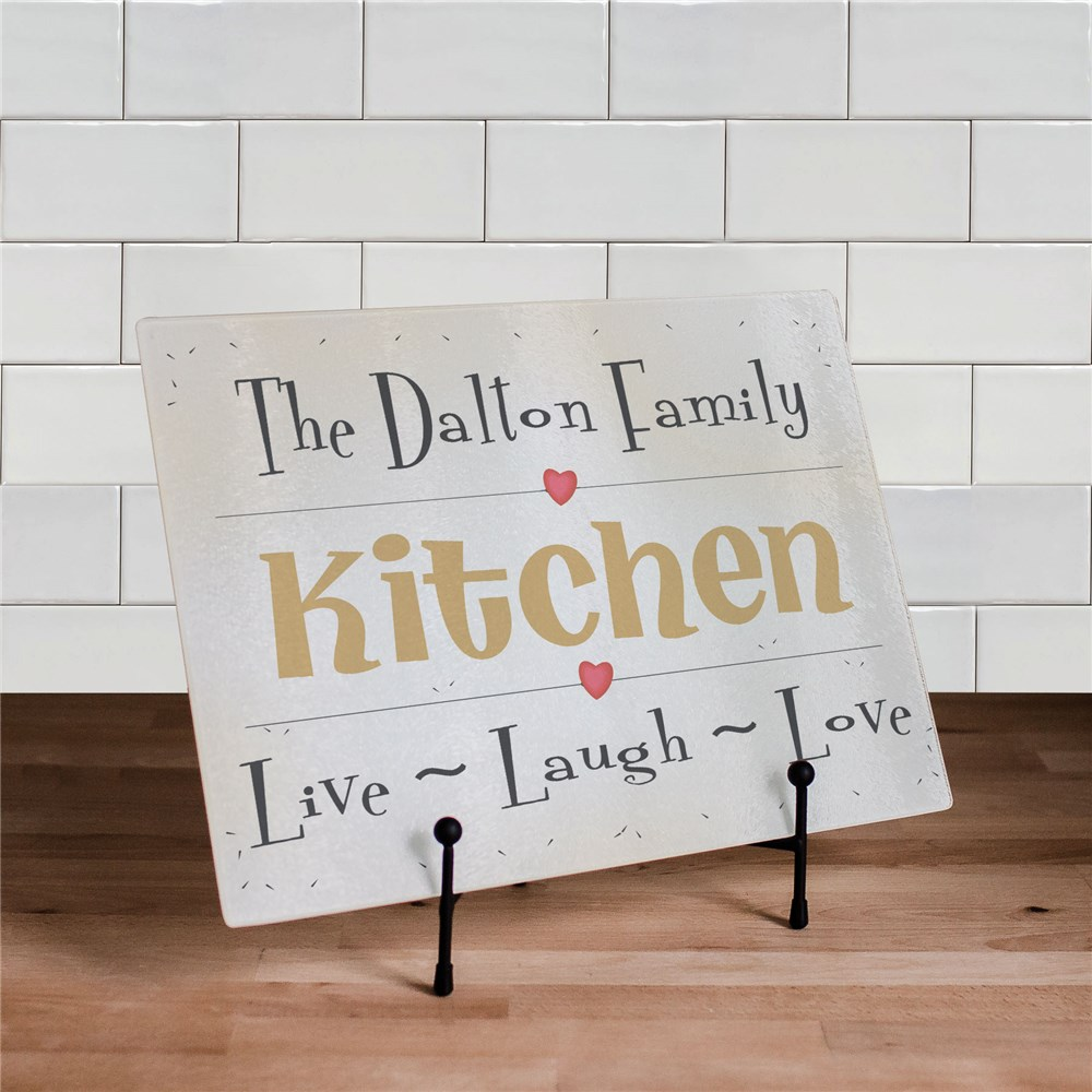 Live, Laugh, Love Cutting Board | Personalized Cutting Boards