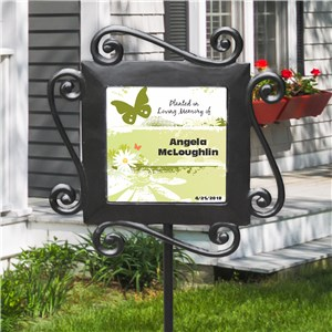 Planted in Loving Memory Garden Stake | Memorial Gifts