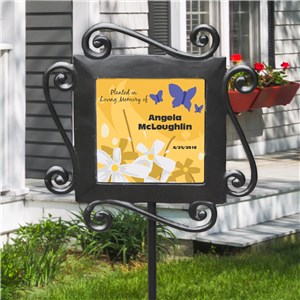 Personalized In Loving Memory Garden Stake | Memorial Gifts