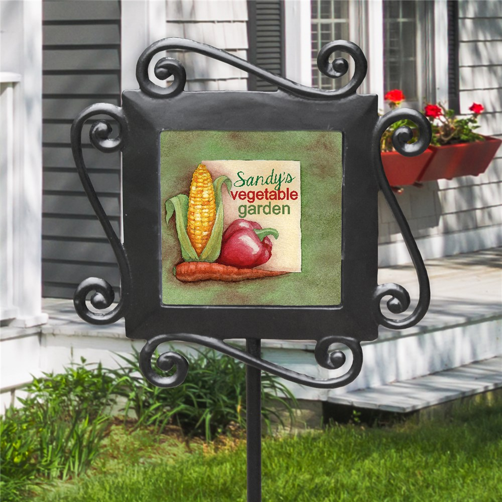 Personalized Vegetable Garden Stake 63159754