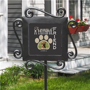 Personalized Faithful Friend Memorial Garden Stake 63170384