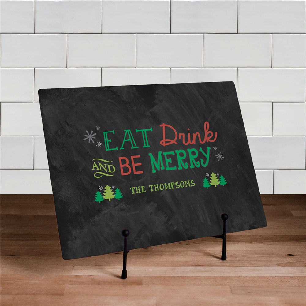 Personalized Merry Christmas Cutting Board | Personalized Christmas Decor