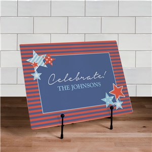Fourth of July Celebration Cutting Board | Personalized Cutting Boards