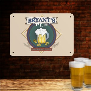 Personalized Irish Pub Sign | Irish Home Decor