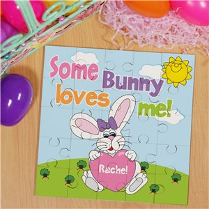 Easter Gifts For Girls | Easter Bunny Jigsaw Puzzle