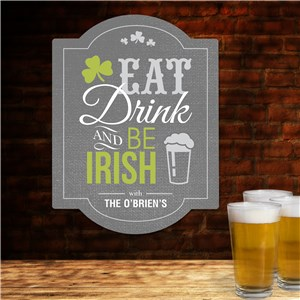 Personalized Irish Decor | Irish Home Signs