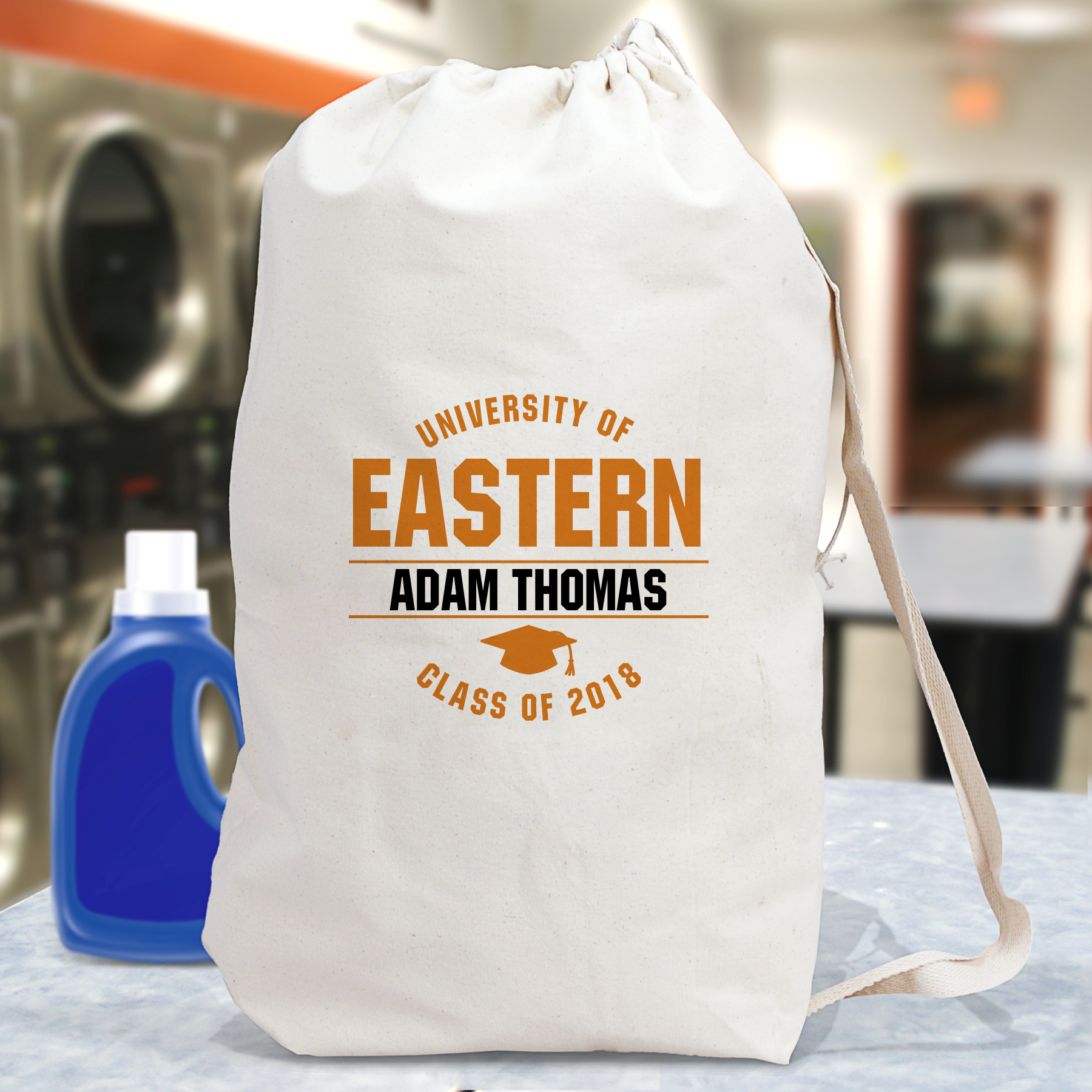 Personalized University Of Laundry Bag | Personalized Laundry Bags