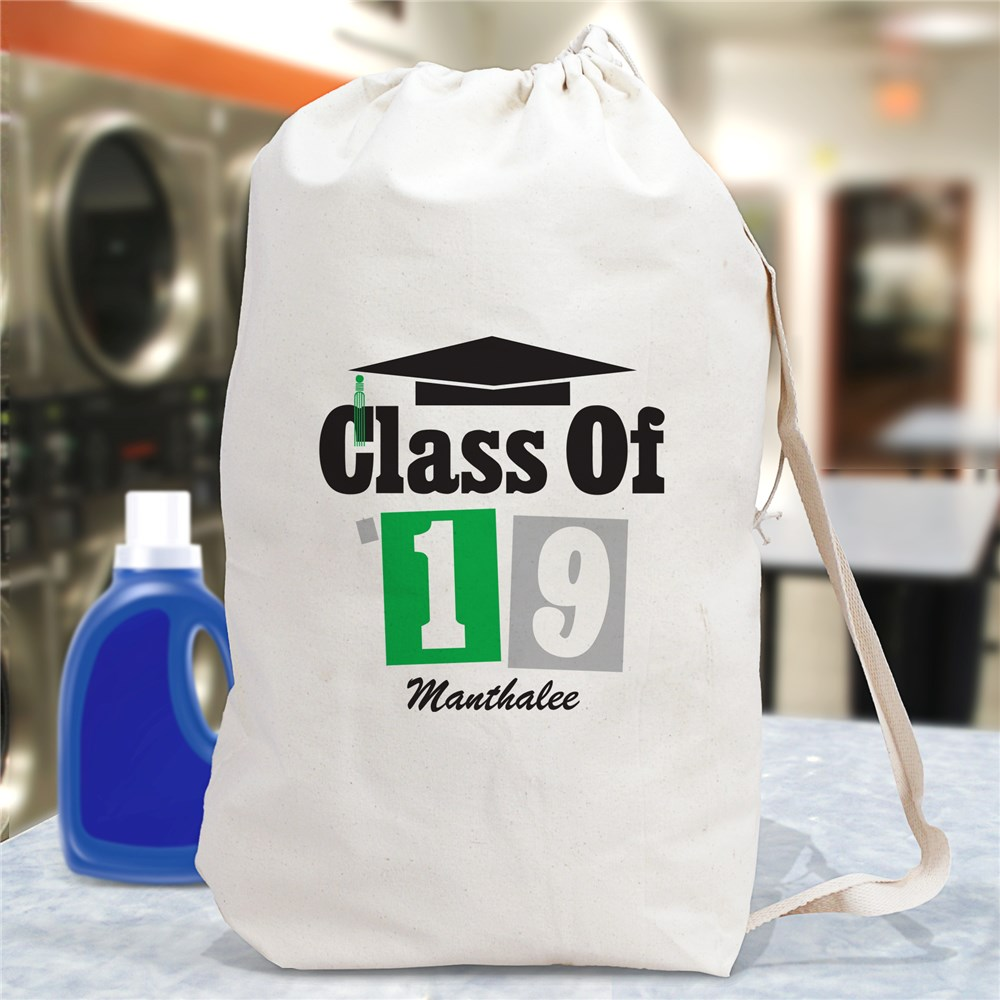Personalized Class Of Laundry Bag | Graduation Gifts
