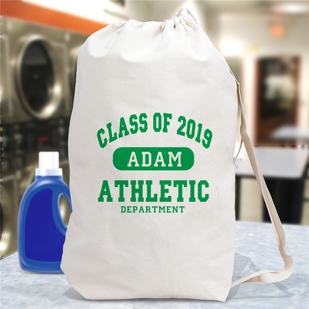 Personalized School Laundry Bag | Gifts For Grads