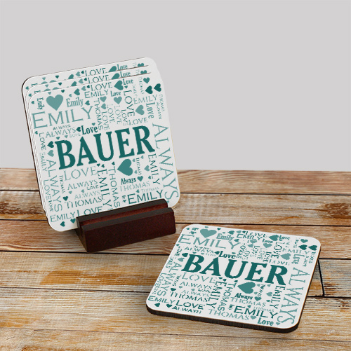 Personalized Drink Coasters | Personalized Bar Gifts