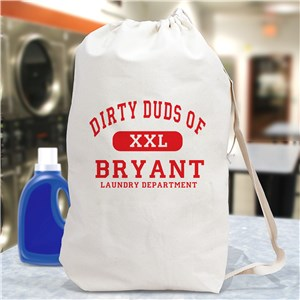 Personalized Laundry Bag | Personalized Graduation Gifts
