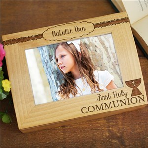 Personalized Wooden Keepsake Box | Wooden Photo Frame Box