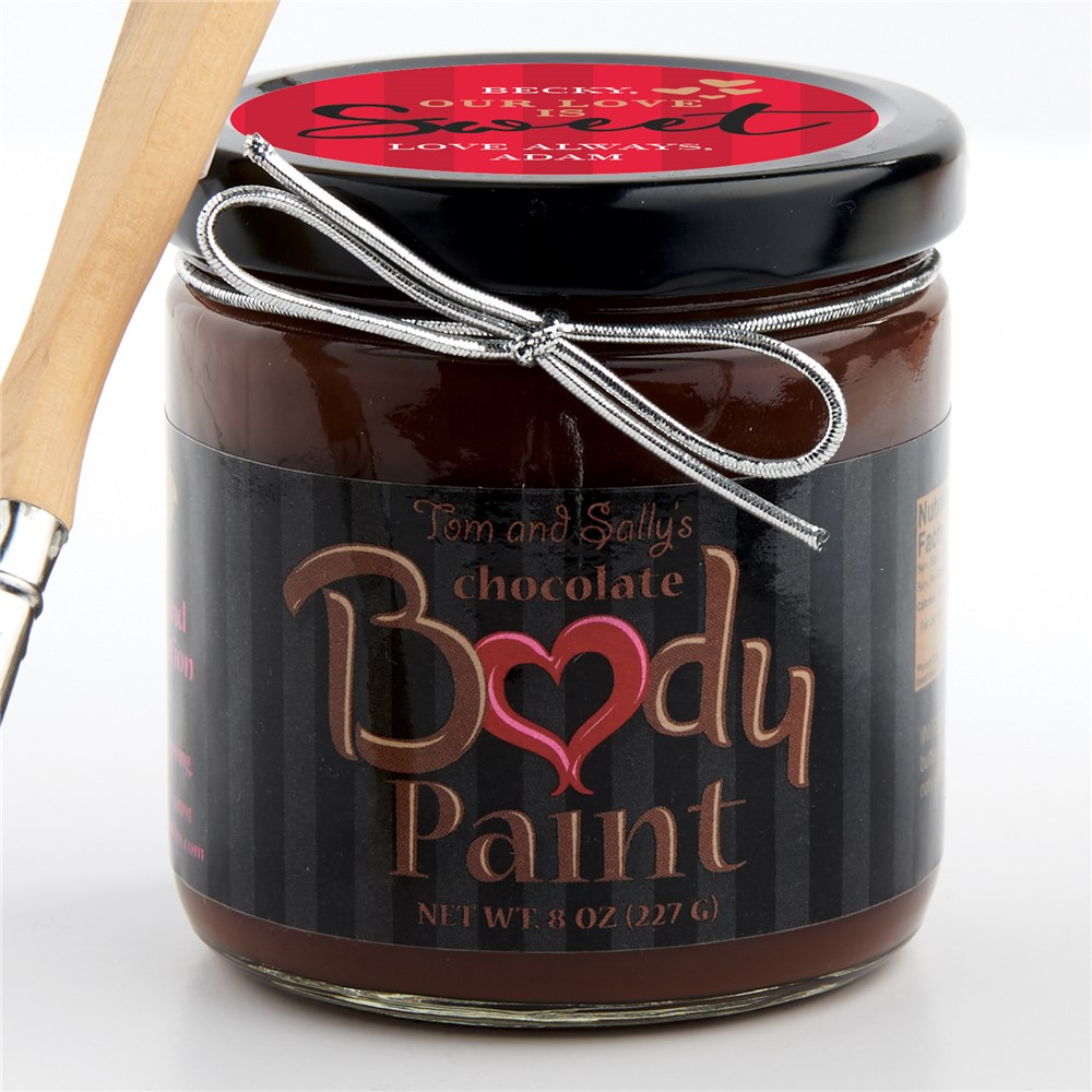 Personalized Chocolate For Your Body | Personalized Chocolate Body Paint