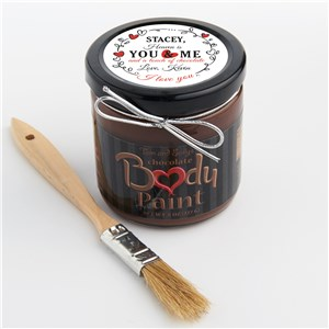 Chocolate Body Paint | Personalized Edible Valentine's Day Gifts