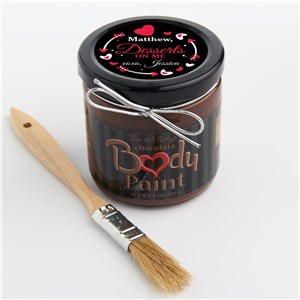 Unique Sexy Valentine's Day Gifts For Him | Personalized Chocolate Body Paint