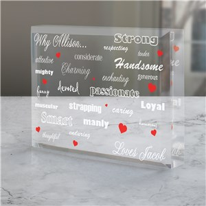 Personalized Small Valentine's Gifts | Romantic Gifts for Him