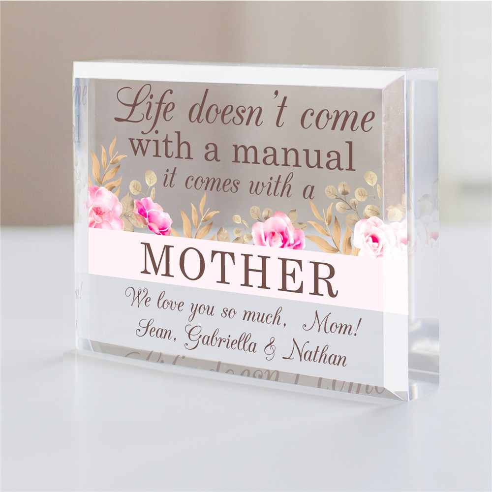 Personalized Mother's Day Acrylic Keepsake
