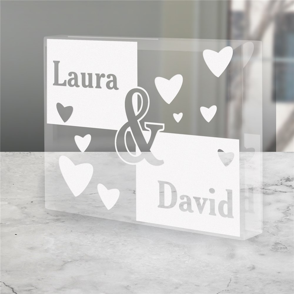 Engraved Couples Keepsake | Personalized Couple Gifts