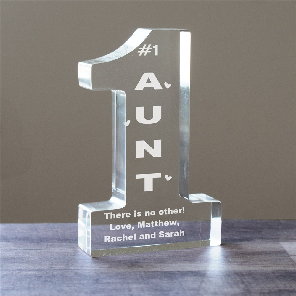 Personalized  1 Aunt Keepsake | Personalized Aunt Gifts