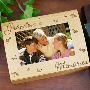 Personalized Memory Photo Keepsake Box | Engraved Memory Box