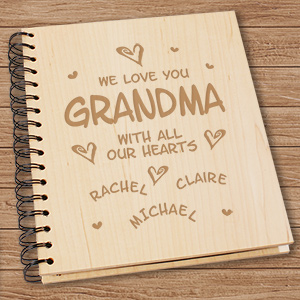 Personalized Grandma Photo Album