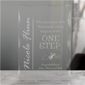 The Journey Graduation Keepsake Block | Graduation Keepsakes