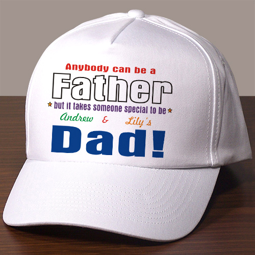 Anybody Can Be...Dad Personalized Hat | Personalized Father's Day Gifts