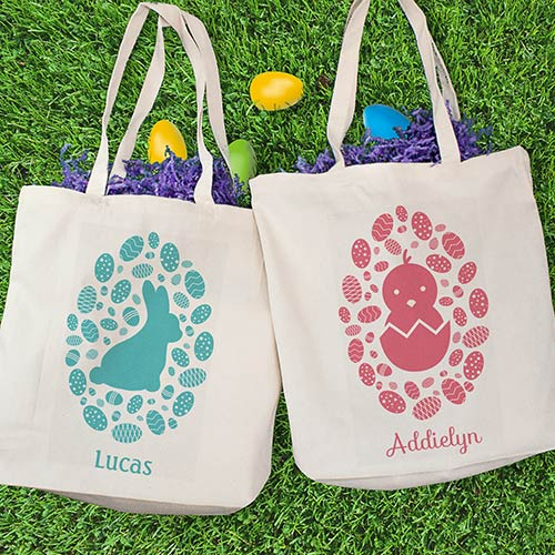 Personalized Kids' Easter Tote | Easter Gifts For Kids