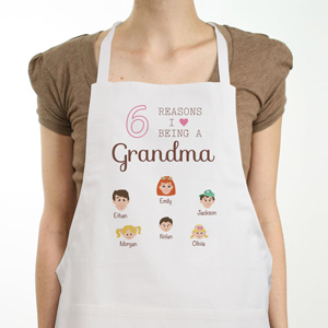 Personalized Reasons I Love Apron