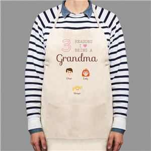 Personalized Reasons I Love Apron | Personalized Aprons