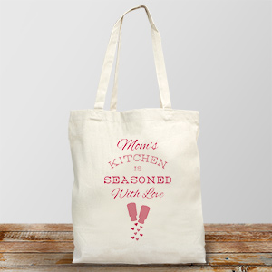 Personalized Seasoned with Love Tote | Personalizable Totes