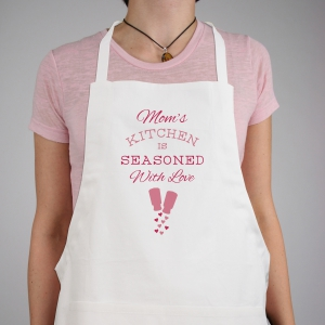 Personalized Seasoned with Love Apron