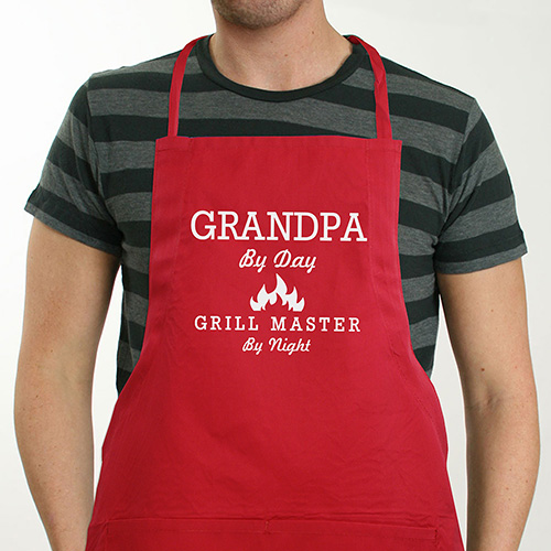 Colorful Personalized Grill Master Apron | Custom Aprons