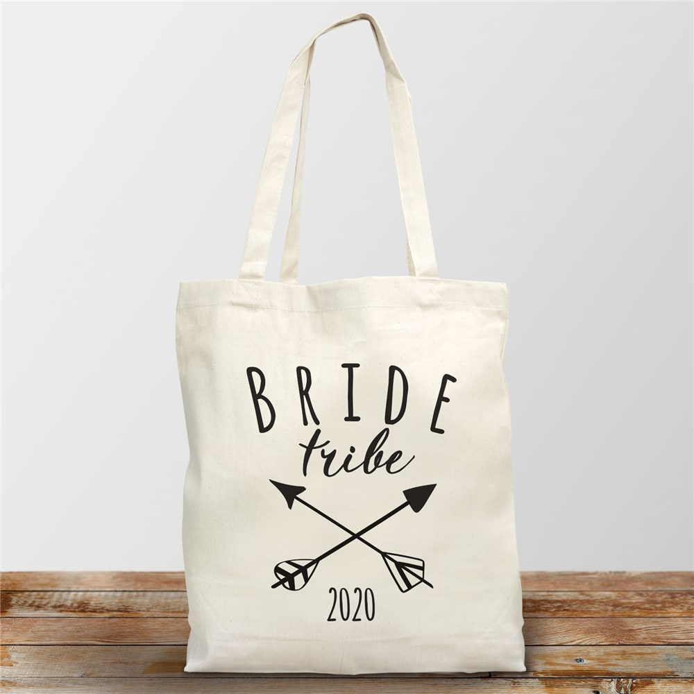Bride Tribe Personalized Tote Bag | Wedding Totes For Bridesmaids