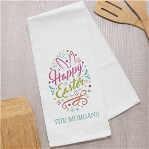 Easter Kitchen Towels | Easter Decorations for the Home