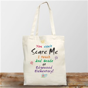 Personalized Teacher Gifts | Teacher Tote Bag