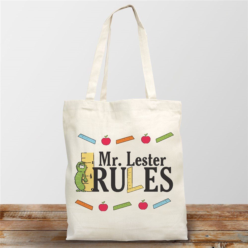 Personalized Gifts For Teachers | Teacher Tote Bags